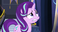 Starlight nervous about scrapbooking with Applejack S6E21