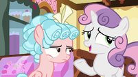 "Sweetie Belle ""at least she likes her present"" S8E12"