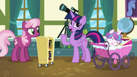 "Twilight ""didn't think the foals would be interested"" S7E3"