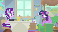 "Twilight ""ever since Fluttershy assigned"" MLPS4"