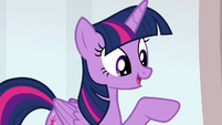 "Twilight ""we teach friendship lessons here"" S8E12"