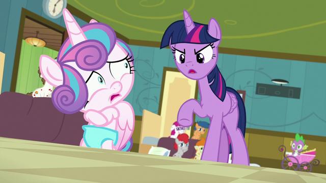 File:Twilight Sparkle scolding Flurry Heart S7E3.png