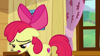 Apple Bloom sings --Maybe now there's more that I could be-- S6E4