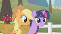 Applejack with Twilight S01E03.png