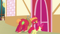 Big McIntosh and Apple Bloom closes the door S3E03.png