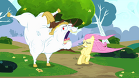 Bulk shouting at Fluttershy S4E10