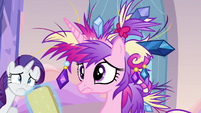 Cadance's messy mane S3E12