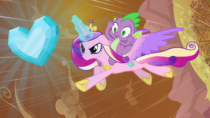 Cadance e Spike T03E02