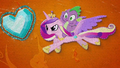 Cadance saves Spike and the Crystal Heart BFHHS5.png