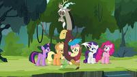 Discord's -important role in Equestria- S4E25