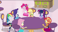 Equestria Girls excited for Rarity EGROF