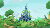 Exterior view of the Changeling Kingdom S9E3