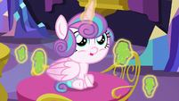 Flurry Heart levitating more mashed peas S7E3