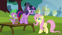 "Fluttershy ""I guess you had to be there"" S5E22"