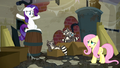 "Fluttershy ""Smoky made too much noise eating garbage"" S6E9.png"