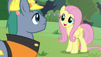 """Fluttershy """"we're trying to do something"""" S7E5"""