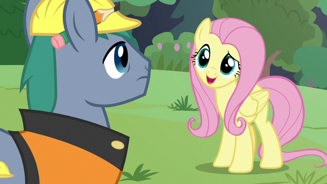 """File:Fluttershy """"we're trying to do something"""" S7E5.png"""