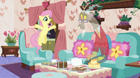 "Fluttershy ""you're a creature of pure chaos!"" S7E12"