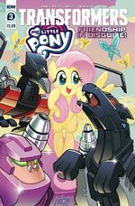 My Little Pony Transformers issue 3 cover A