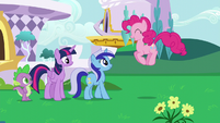 "Pinkie ""you didn't say Minuette would be here!"" S5E12"