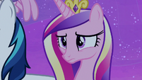 Princess Cadance worried about Twilight Sparkle S7E22