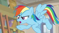 "Rainbow ""Caballeron tricked Fluttershy"" S9E21"