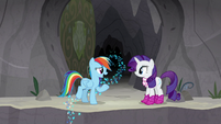 "Rainbow ""does this mean we're still friends?"" S8E17"