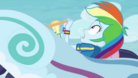 "Rainbow Dash ""safe to be this high up"" EGROF"