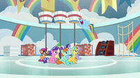 Rainbow Dash -there was a huge storm- S8E12