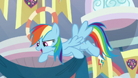 Rainbow Dash continues her story S8E12
