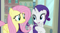 "Rarity ""it's easy to track"" S8E4"