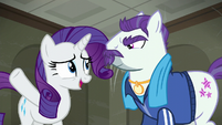 Rarity --as you can see-- S6E9