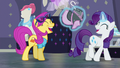 Rarity and Pursey Pink laughing together S8E4.png