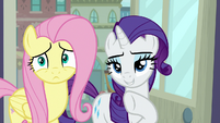 Rarity pointing at obtuse section S8E4