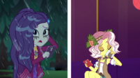 Rarity ponders while Vignette sips tea CYOE13c
