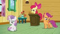 S06E04 Apple Bloom zwołuje zebranie Ligi Znaczkowej
