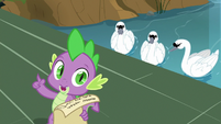 "Spike ""finish with a party in the castle"" S9E13"