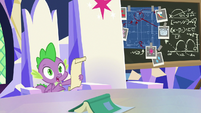 "Spike ""it's from Shining Armor"" S9E4"