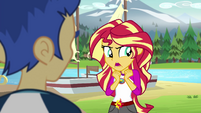Sunset Shimmer --if what I think is happening-- EG4