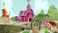 Sweet Apple Acres exterior at midday S7E2