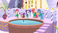 The Ponytones singing at the spa S4E14.png