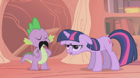Twilight utterly exasperated S1E06