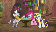 Zecora -use my super-sudsy shampoo- S7E19