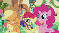 Apple Bloom spitting food chunks at AJ S5E20.png