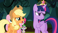 Applejack '...the rest of us aren't princesses' S4E02.png