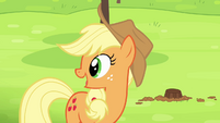 Applejack 'Got the idea from them' S4E10