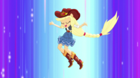 Applejack jumping in the air EGS1