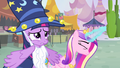Cadance performing a spell S4E11.png