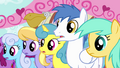 Crowd of ponies confused S4E12.png