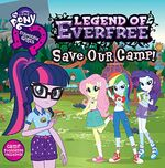 Equestria Girls Legend of Everfree storybook cover